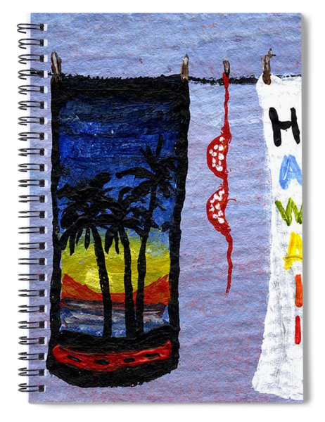 Out To Dry Spiral Notebook