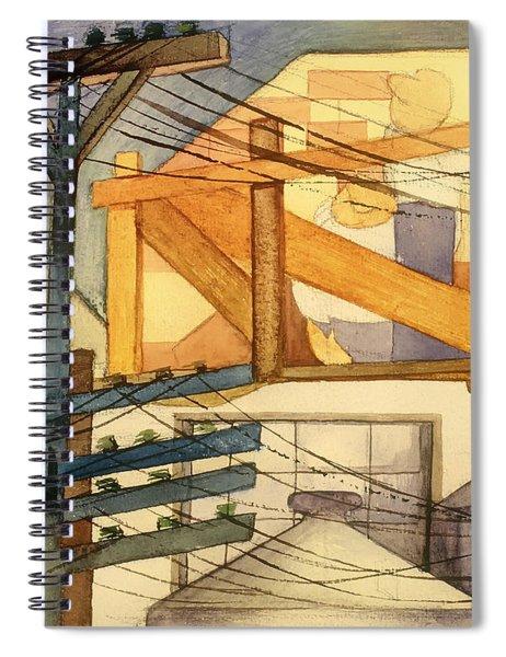 Outdoor Scaffolding  Spiral Notebook