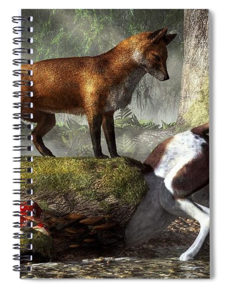 Outfoxed Spiral Notebook