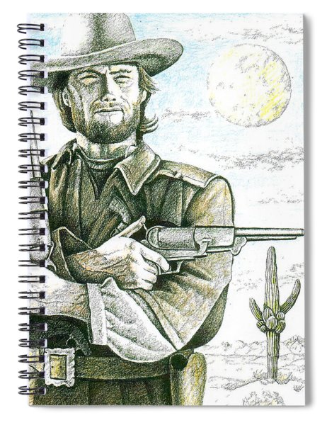 Outlaw Josey Wales Spiral Notebook
