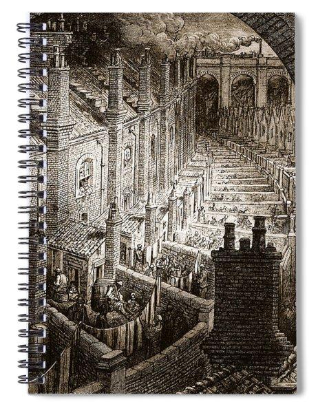 Over London Spiral Notebook
