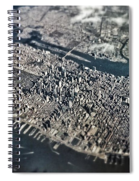 Over Nyc Spiral Notebook