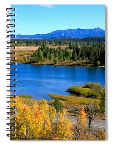 Oxbow Bend, Grand Teton National Park Spiral Notebook
