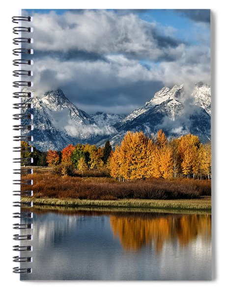 Oxbow Morning Spiral Notebook