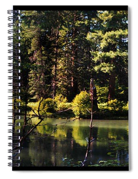 Oxbow Triptych Spiral Notebook