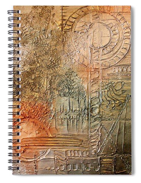 Oxidization Sacred Geometry Spiral Notebook