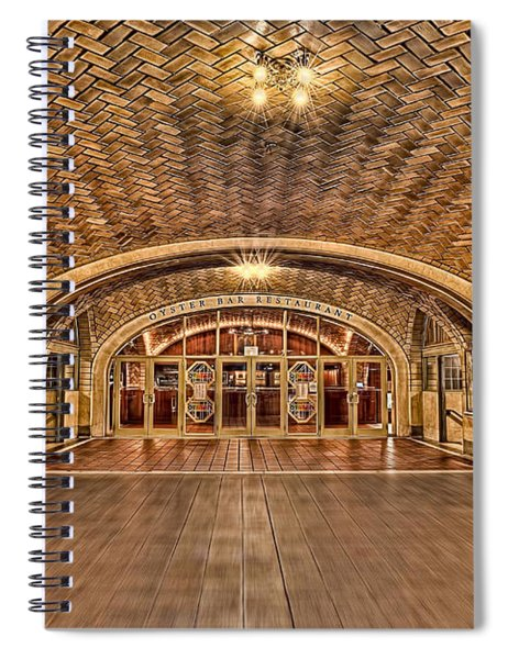 Oyster Bar Restaurant Spiral Notebook