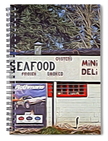 Oyster Takeout Spiral Notebook