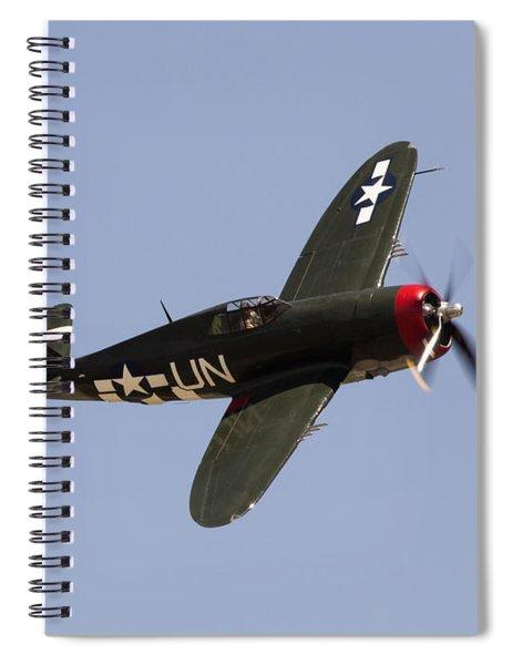 P-47 Thunderbolt Spiral Notebook