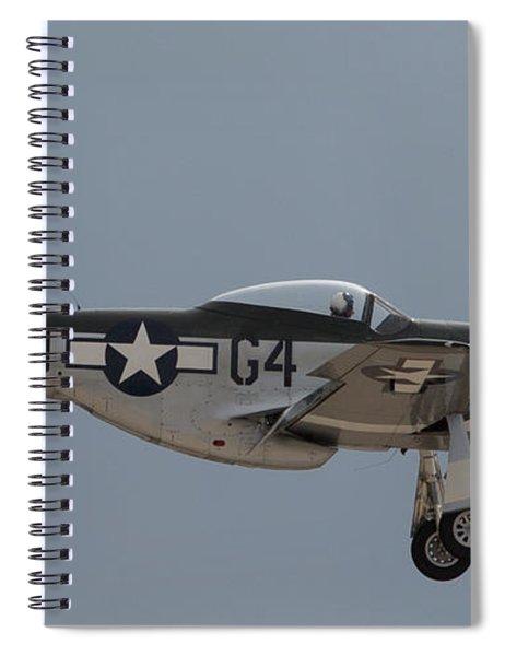 P-51 Landing Configuration Spiral Notebook