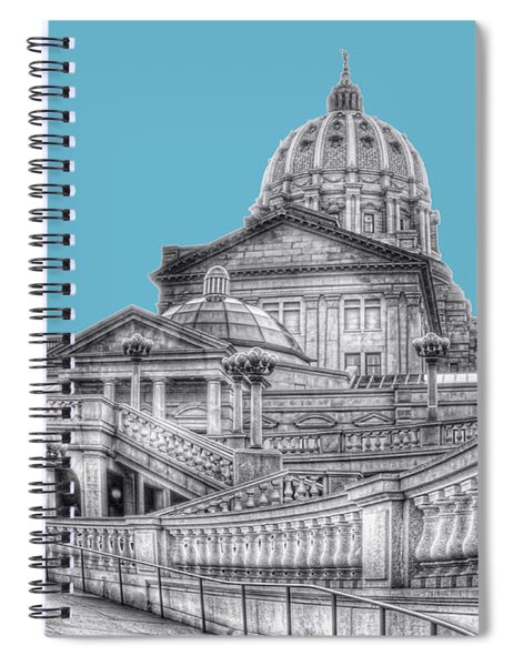 Pa Capitol Building Spiral Notebook