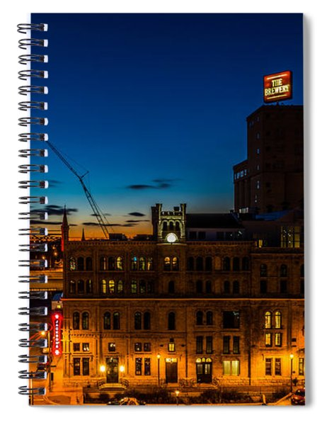 Pabst U-turn Spiral Notebook