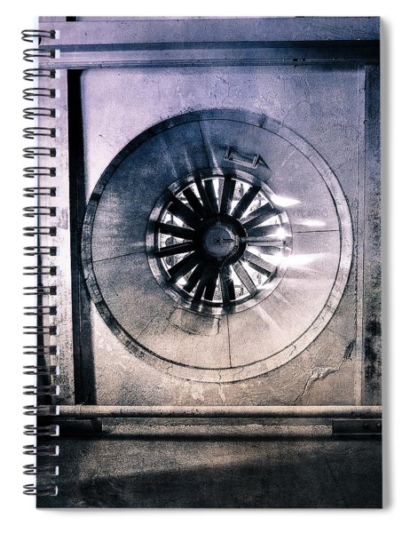 Pacific Airmotive Corp 15 Spiral Notebook