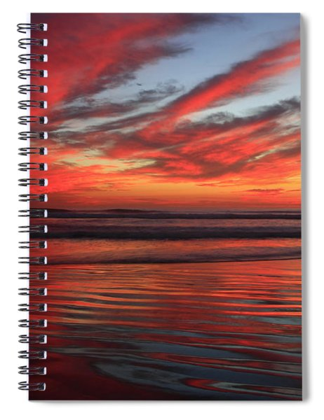 Oceanside Reflections Spiral Notebook