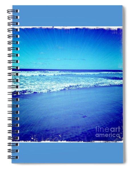 Pacific Rays Spiral Notebook