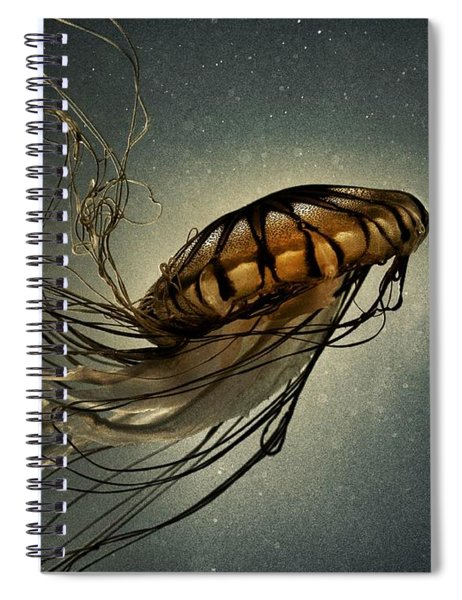 Pacific Sea Nettle Spiral Notebook