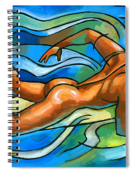 Paddling Spiral Notebook