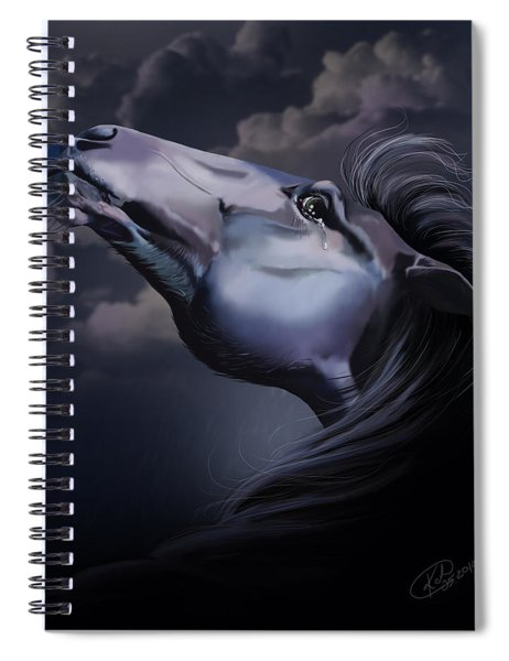 Pain Inside Me Spiral Notebook