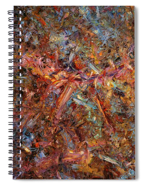 Paint Number 43 Spiral Notebook