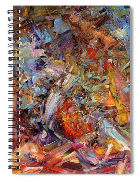 Paint Number 43a Spiral Notebook