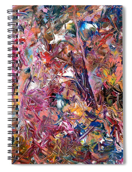Paint Number 49 Spiral Notebook