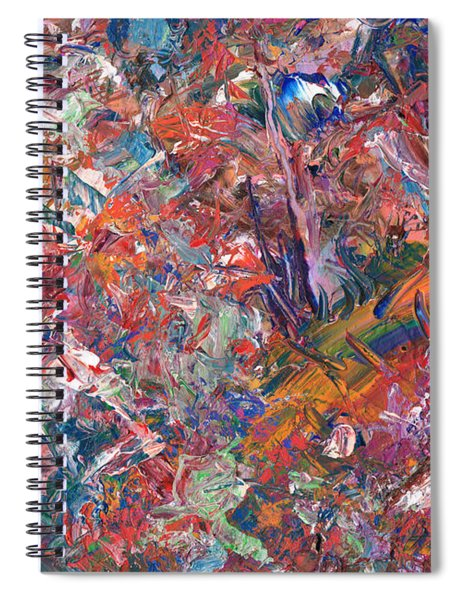 Paint Number 50 Spiral Notebook