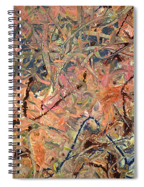 Paint Number 52 Spiral Notebook