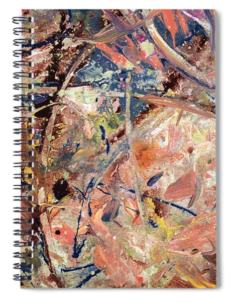 Paint Number 53 Spiral Notebook