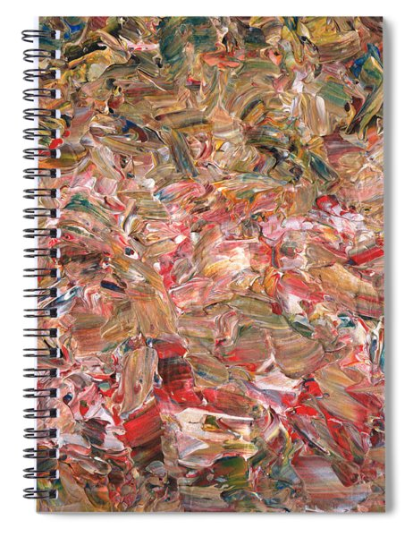 Paint Number 56 Spiral Notebook