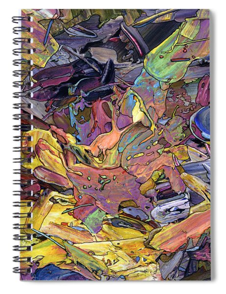 Paint Number 60 Spiral Notebook