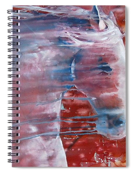 Painted By The Wind Spiral Notebook