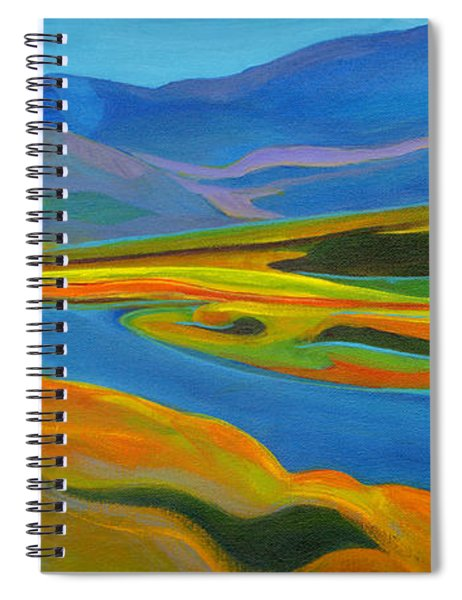 Painted Hills Spiral Notebook