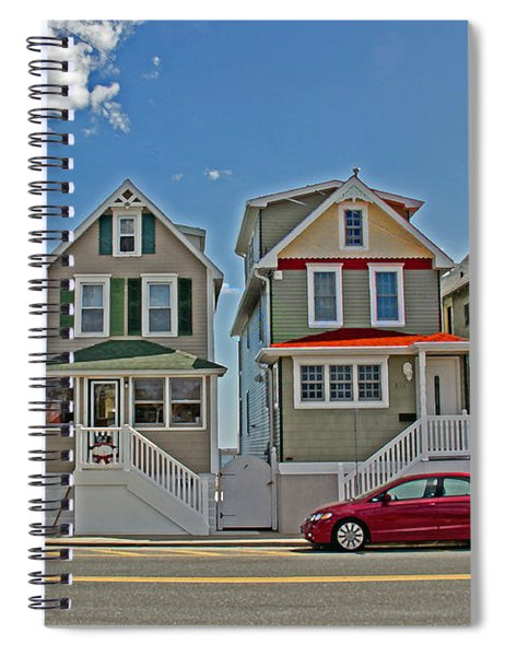 Painted Ladies Of Somers Point Spiral Notebook