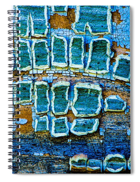 Painted Windows Number 1 Spiral Notebook