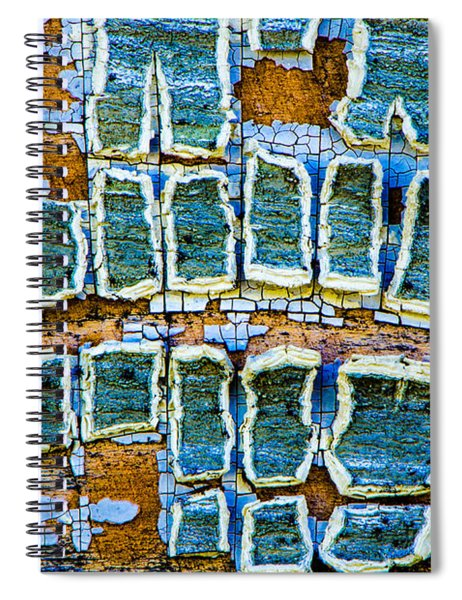 Painted Windows Number 2 Spiral Notebook
