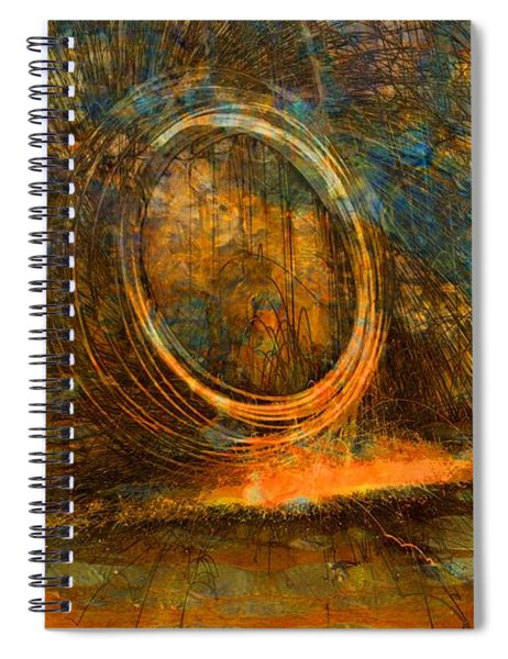 Painting With Fury Spiral Notebook