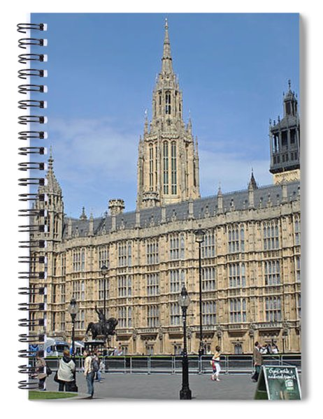 Palace Of Westminster Spiral Notebook