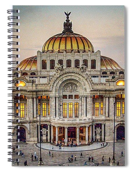 Palacio De Bellas Artes Spiral Notebook