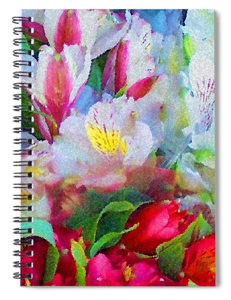Palette Of Nature Spiral Notebook