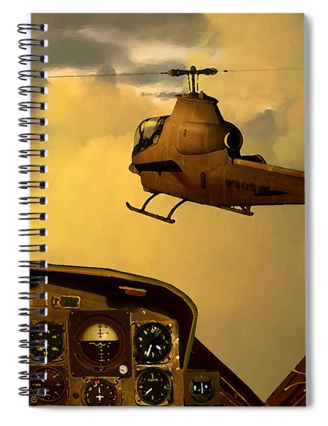 Palette Of The Aviator Spiral Notebook