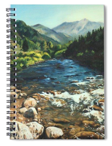 Palisades Creek  Spiral Notebook