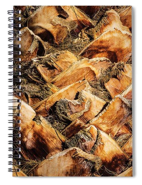 Palm Bark Spiral Notebook