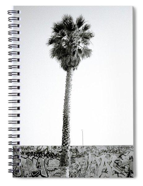 Palm Tree And Graffiti Spiral Notebook