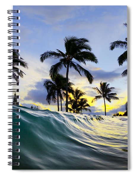 Palm Wave Spiral Notebook