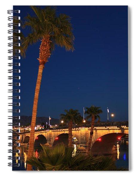 Palms At London Bridge Spiral Notebook