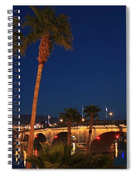 Palms At London Bridge Spiral Notebook