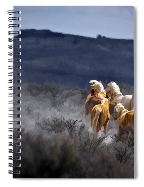 Palomino Buttes Band Spiral Notebook