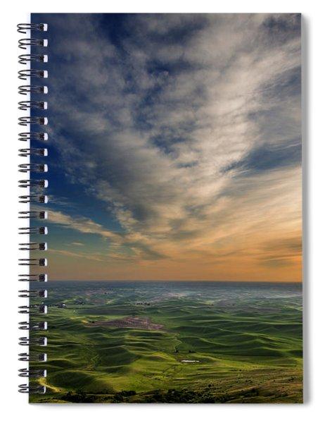 Palouse Sunset Spiral Notebook