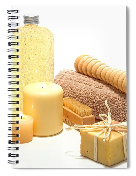 Pampering Kit Spiral Notebook by Olivier Le Queinec