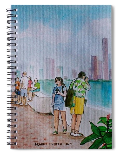 Panama City Panama Spiral Notebook